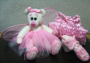 авторский мишка Розовые сны