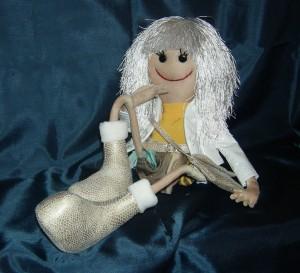 кукляшка блондинка 2