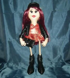 кукляшка рокерша