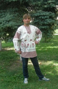 рубаха петухи1