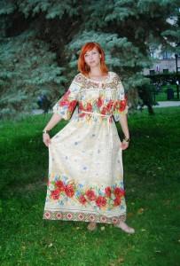 сарафан русско поле2